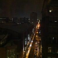 Photo taken at Hilton Garden Inn Philadelphia Center City by Brandon H. on 1/29/2011