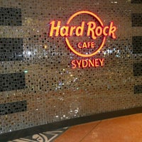 Photo taken at Hard Rock Cafe Sydney by Monna E. on 8/20/2012