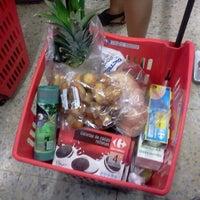 Photo taken at Carrefour Market by Zhanara I. on 7/13/2012