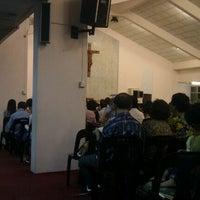 Photo taken at St. Simon Catholic Church by Aaron Xavier M. on 4/7/2012