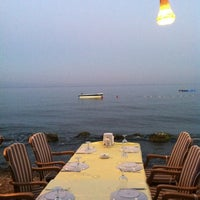 7/14/2012 tarihinde Zeliha Y.ziyaretçi tarafından Hasanaki Balık Restaurant'de çekilen fotoğraf