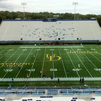 Photo taken at Delaware Stadium by Maggie H. on 9/17/2011
