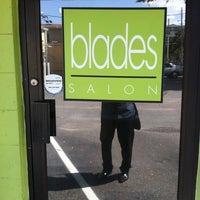 Photo taken at Blades Salon and Day Spa by John S. on 8/19/2011