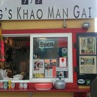 Photo taken at Nong's Khao Man Gai by H.C. @. on 10/24/2011