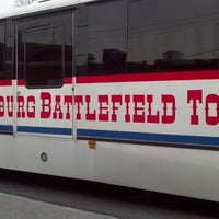 Photo taken at Gettysburg Tours Center Battlefield Bus by Miranda O. on 12/17/2011