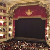 Photo taken at Teatro alla Scala by Alex D. on 5/22/2012