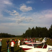Photo taken at Sassi airstrip by Sami V. on 7/28/2011