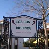 Photo taken at Los Dos Molinos by Lisa G. on 2/29/2012