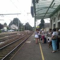 Photo taken at Gare SNCF de La Souterraine by Masaru T. on 8/1/2012