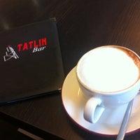 Снимок сделан в Tatlin Bar пользователем Victoria 6/11/2012