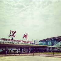 Photo taken at Shenzhen Bao'an International Airport (SZX) by Ninjapan on 5/24/2012