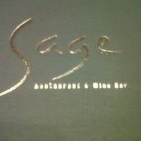Photo taken at Sage Restaurant & Wine Bar by Penny I. on 7/2/2012