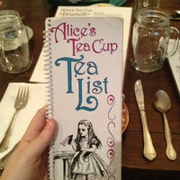 Photo taken at Alice's Teacup Chapter II by Kieran M. on 4/15/2012