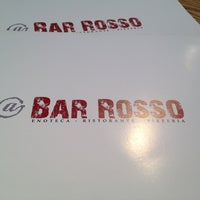 Photo taken at Bar Rosso by Tin W. on 8/26/2012