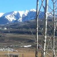 Photo taken at Crested Butte, CO by Mark S. on 4/4/2012