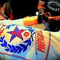 Photo taken at Zulu Tattoo by Jennifer L. on 3/17/2012