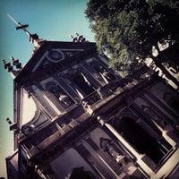 Photo taken at Igreja Santa Cruz dos Militares by Daniel Costa d. on 8/31/2012