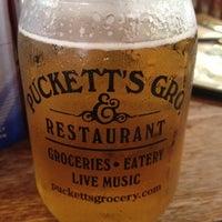 Photo taken at Puckett's Grocery & Restaurant by David C. on 8/2/2012