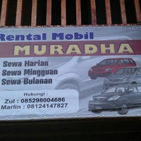 Photo taken at Rental Mobil MURADHA by Farul E. on 7/31/2012