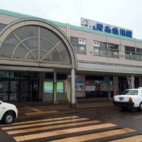 Photo taken at Itoigawa Station by Masaki H. on 3/17/2012
