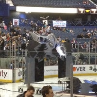 Photo taken at Chicago Wolves Game by Liezl A. on 4/28/2012