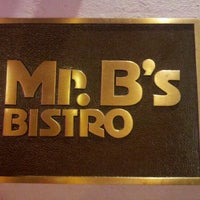 Photo taken at Mr. B's Bistro by Theerut K. on 4/28/2012