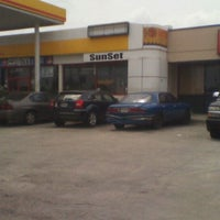 Photo taken at Shell by Lanora S. on 4/21/2012