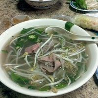 Photo taken at Pho Vinh by Ted Y. on 2/12/2012