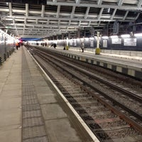 Photo taken at London Blackfriars Railway Station (BFR) by Chris E. on 2/23/2012