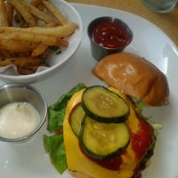 Photo taken at FLIP Burger Boutique by Matthew B. on 9/2/2012