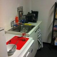 Photo taken at Urturn.com kitchen by Chris T. on 4/12/2012