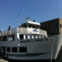 Photo taken at Boston Harbor Cruises by Laura Clementina R. on 8/30/2012
