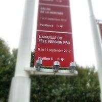 Photo taken at Paris Expo Porte de Versailles by Elizabeth on 9/11/2012