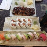 Photo taken at Sushi & Teri by Blu on 9/8/2012