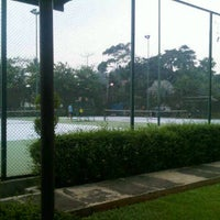 Photo taken at Tennis 25 -Sports Club by Arief J. on 2/24/2012