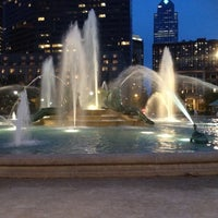 Photo taken at Swann Memorial Fountain by Gaudy C. on 7/13/2012
