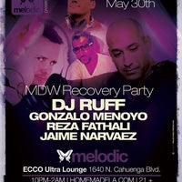Photo taken at Ecco Ultra Lounge by Gonzalo M. on 5/31/2012