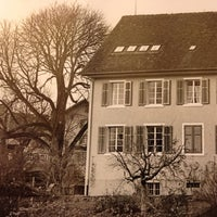 Photo taken at Altes Schulhaus by phidou on 4/1/2012