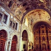 Foto tomada en Templo de Santo Domingo de Guzmán por Ponch V. el 3/23/2012