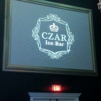 Photo taken at Czar Ice Bar by KP on 5/1/2012
