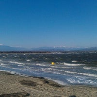 Photo taken at Windsurf Spot Éole by Alexandre W. on 2/20/2012