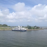 Photo taken at Southport Ferry Terminal by Beth W. on 5/15/2012