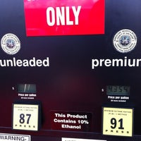 Photo taken at Costco Gas by Katrin on 4/12/2012