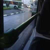 Photo taken at Автобус № 732 by Evan T. on 9/5/2012