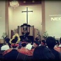 Photo taken at HKBP Surabaya by leo n. on 6/29/2012