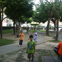 Photo taken at 中原公園 by Wanida H. on 7/25/2012