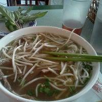 Photo taken at Pho Saigon Pasteur Vietnamese Noodle House by Craig F. on 5/1/2012