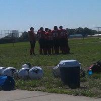 Photo taken at Avon High School Oriole Stadium by MC7576 on 8/18/2012