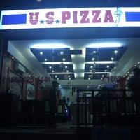 Photo taken at US Pizza by Vikram M. on 7/3/2012