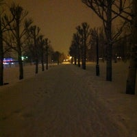Снимок сделан в Парк Победы пользователем Elena S. 3/26/2012
